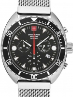 Ceas: Ceas barbatesc Swiss Alpine Military 7066.9137 Turtle Cronograf 44mm 10ATM