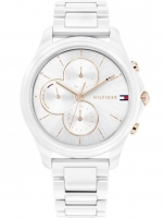 Ceas: Tommy Hilfiger 1782262 Skylar ceramic ladies 38mm 3ATM