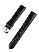 Ceas: Ingersoll Curea de Schimb  [18 mm] Neagra - Catarama Argintie Ref. 27188