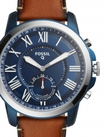Ceas: Ceas barbatesc Fossil Q FTW1147 Grant Hybrid Smartwatch  44mm 5ATM