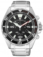 Ceas: Ceas barbatesc Citizen AT2430-80E Eco-Drive Cronograf  43mm 10ATM
