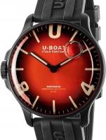 Ceas: U-Boat 8697 Darkmoon Red IPB Soleil 44mm 5ATM