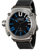 Ceas: Ceas barbatesc U-boat 8038 Classico Autom 1001 m. 2. Natoband 47mm 100ATM