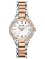 Ceas: Ceas de dama Bulova 98R272 Diamant  28mm 3ATM