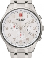 Ceas: Swiss Alpine Military 7084.9132 Chronograph 43mm 10ATM