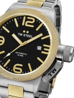 Ceas: Ceas barbatesc TW-Steel CB45 Canteen Automatic 45mm 10ATM