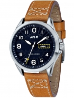 Ceas: Ceas barbatesc AVI-8 AV-4045-02 Hawker Harrier II 45 mm 5ATM
