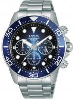 Ceas: Lorus RT343JX9 chrono men`s 43mm 10ATM