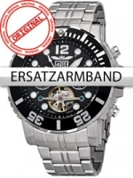 Ceas: Curea de ceas Perigaum Edelstahl P-1104 silber