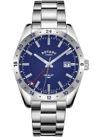 Ceas: Rotary GB05176/05 Henley GMT men`s 40mm 10ATM