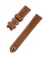 Ceas: Ingersoll Bison Ersatzband [22 mm] hellbraun ohne Schließe Ref. 27180