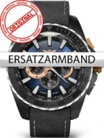 Ceas: Curea de ceas Perigaum Legend P-1403-BKBL-BL