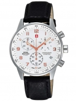 Ceas: Ceas barbatesc Swiss Military SM34012.11 Cronograf 5 ATM, 41mm