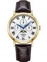Ceas: Rotary GS05325/01 Windsor Herrenuhr 40mm 5ATM