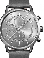 Ceas: Ceas barbatesc Hugo Boss 1513570 Architectural Cronograf  44mm 3ATM