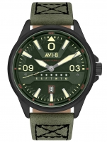 Ceas: Ceas barbatesc AVI-8 AV-4063-04 Hawker Harrier II 44mm 5ATM