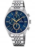 Ceas: Ceas barbatesc Festina F20285/3 Timeless Cronograf  41mm 5ATM