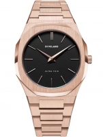 Ceas: Ceas barbatesc D1 Milano UTBL06 Rose Night Ultra Thin 40 mm  5ATM