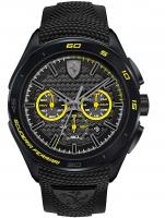 Ceas: Ceas barbatesc Scuderia Ferrari 0830345 Gran Premio Cronograf 45mm 5ATM
