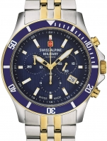 Ceas: Ceas barbatesc Swiss Alpine Military 7022.9145 Cronograf 42mm 10ATM