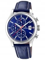 Ceas: Ceas barbatesc Festina F20375/2 Timeless Cronograf 43mm 10ATM