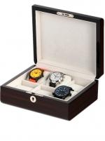 Ceas: Cutie ceasuri Rothenschild  RS-2267-6E Pentru 6 Ceasuri LEMN MASIV PREMIUM LINE