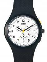 Ceas: Ceas barbatesc Braun BN0115WHBKB Cronograf 46mm 5ATM