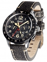 Ceas: Ceas barbatesc Ingersoll IN3224BK Bison No. 69 GMT Automat 46mm
