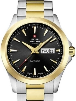 Ceas: Swiss Military by Chrono SMP36040.27 sapphire men`s 42mm 5ATM