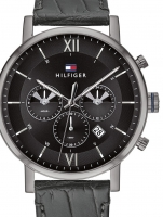 Ceas: Tommy Hilfiger 1710395 Even Dual-Time Herren 44mm 5ATM