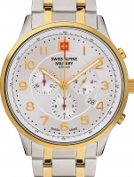 Ceas: Swiss Alpine Military 7084.9142 Chronograph 43mm 10ATM