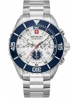 Ceas: Ceas barbatesc Swiss Military Hanowa 06-5341.04.001 Ambassador Cronograf 44mm 10ATM
