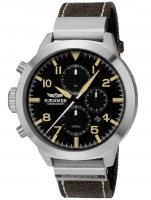 Ceas: Ceas barbatesc Haemmer HF-03C Prudent Cronograf EDITIE LIMITATA 999 BUCATI 50mm 10ATM