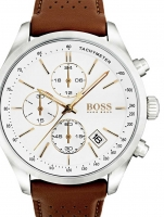Ceas: Ceas barabtesc Hugo Boss 1513475 Grand-Prix Chrono. 44mm 3ATM