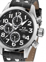 Ceas: Ceas barbatesc TW-Steel VS54 Volante Cronograf  48mm 10ATM
