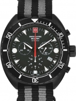 Ceas: Ceas barbatesc Swiss Alpine Military 7066.9677 Turtle Cronograf 44mm 10ATM