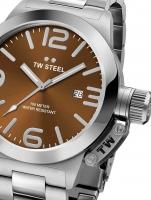 Ceas: Ceas barbatesc TW-Steel CB21 Canteen Bracelet 45mm 10ATM
