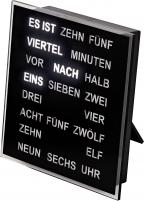 Ceas: AMS 1232 digitale Tischuhr- Wortuhr - Serie: AMS Design