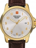 Ceas: Swiss Alpine Military 7011.1512 men`s 40mm 10ATM