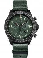 Ceas: Ceas barbatesc Traser H3 109463 P67 Officer Cronograf Green Nato 46mm 10ATM