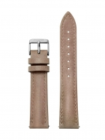 Ceas: Cluse Ersatzband CLS363 [16 mm] beige m. silber Schließe