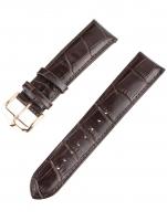 Ceas: Ingersoll Ersatzband [22 mm] braun m. rosé Schließe Ref. 25040