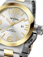 Ceas: Ceas barbatesc TW-Steel CB31 Canteen Bracelet 45mm 10ATM