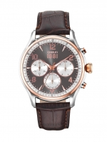 Ceas: Ceas barbatesc Cerruti CRA107STR13BR Bellagio Cronograf 44mm 5ATM