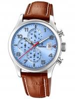 Ceas: Ceas barbatesc Festina F20375/5 Timeless Cronograf 43mm 10ATM