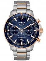 Ceas: Ceas barbatesc Bulova 98B301 Marine Star Cronograf  45mm 20ATM