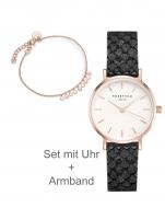 Ceas: Rosefield DSMBR-D15 The Small Edit Set with bracelet 26mm 3ATM