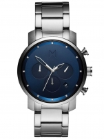 Ceas: Ceas barbatesc MVMT MC02-SBLU Chrono Midnight Silver 40mm 10ATM