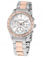 Ceas: Ceas de dama Jacques Lemans 1-1587ZI Rome Chronograph  37mm 10ATM