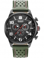 Ceas: Ceas barbatesc Swiss Military Hanowa 06-4328.13.007 Airman Cronograf 45mm 5ATM